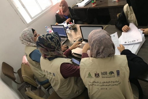 Gaza Group completes temporary employment project for unemployed graduates in The Gaza Strip